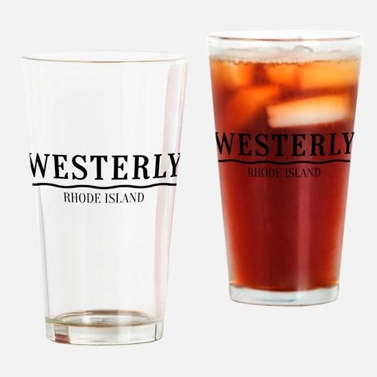Westerly Rhode Island Drinking Glass
