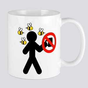 No Coffee Covered In Bees Mug