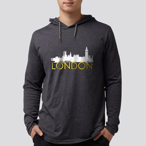 London Landmarks: Parliament #2 Mens Hooded Shirt