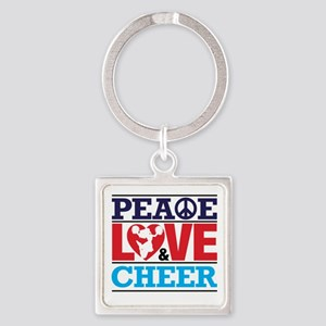 Peace Love and Cheer Keychains
