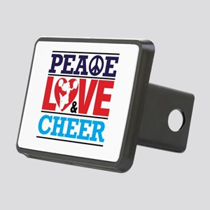 Peace Love and Cheer Hitch Cover