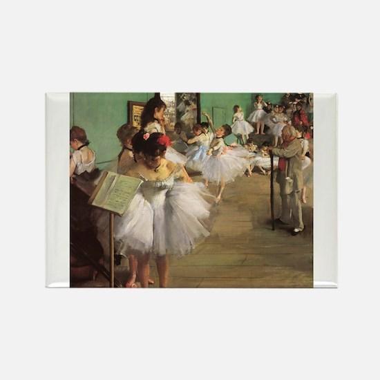 Edgar Degas Dancing Class Magnets
