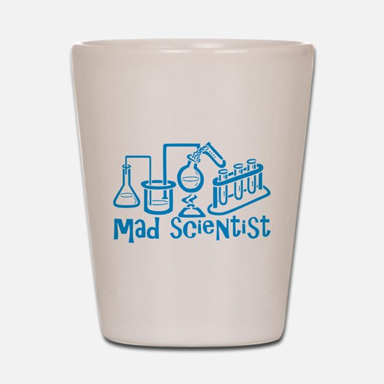 Mad Scientist Shot Glass