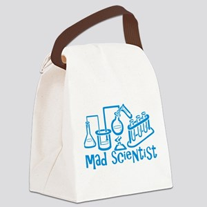 Mad Scientist Canvas Lunch Bag