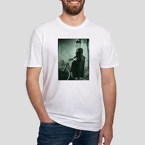 Bike riding Cat Lady T-Shirt