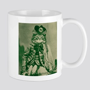Highlander cat Mug