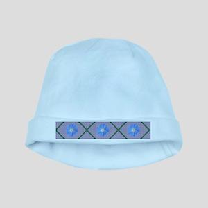 Morning glory baby hat