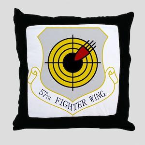 57th FW Throw Pillow