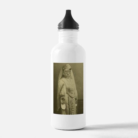 wedding cat Water Bottle