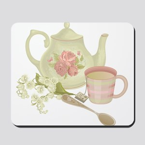 Vintage Old English Teapot Mousepad