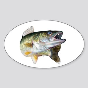 walleye turn Sticker