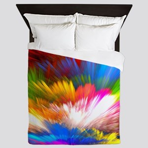 Abstract Clouds Queen Duvet