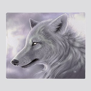Magical Wolf Throw Blanket