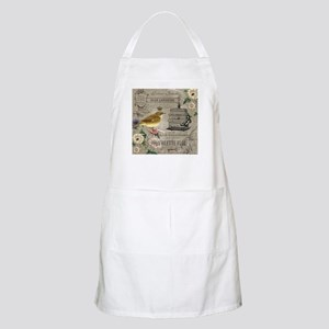 Heather Myers 002c FRENCH GARDEN birdcage 5 Apron