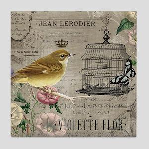 Heather Myers 002c FRENCH GARDEN birdcage 5 Tile C