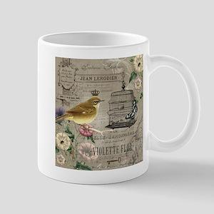 Heather Myers 002c FRENCH GARDEN birdcage 5 Mug