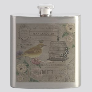 Heather Myers 002c FRENCH GARDEN birdcage 5 Flask