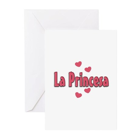 La Princesa Greeting Cards (Pk of 10)