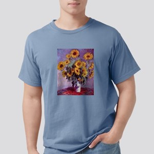 Claude Monet Bouquet of Sunflowers Mens Comfort Co