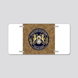 US Navy Diver Aluminum License Plate