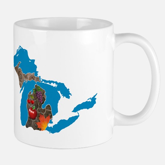 Great Lakes Michigan Harvest Mug