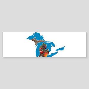 Great Lakes Michigan Harvest Bumper Sticker