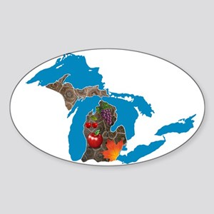 Great Lakes Michigan Harvest Sticker