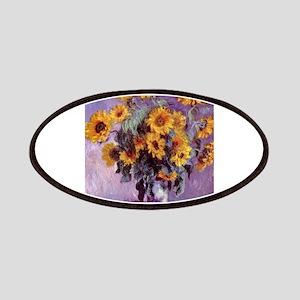 Claude Monet Bouquet of Sunflowers Patch