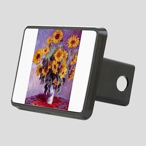 Claude Monet Bouquet of Sunflowers Hitch Cover