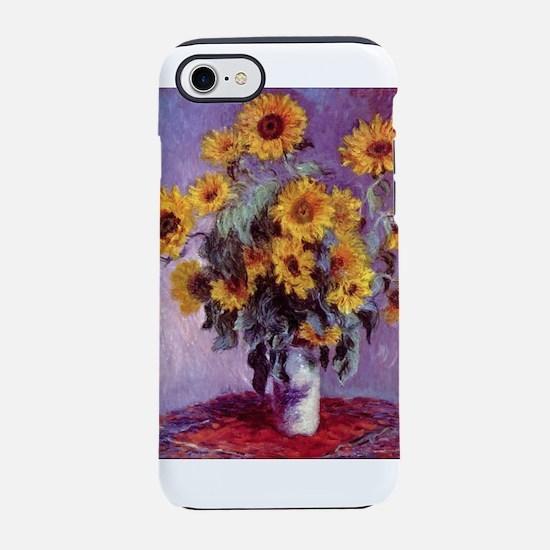 Claude Monet Bouquet of Sunflowers iPhone 7 Tough