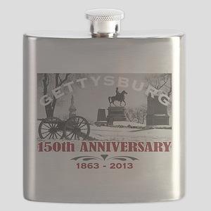 Civil War Gettysburg 150 Anniversary Flask