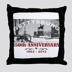 Civil War Gettysburg 150 Anniversary Throw Pillow