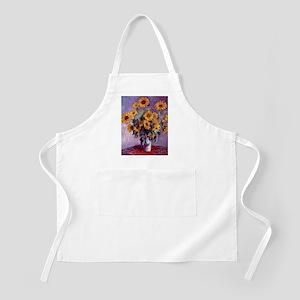Claude Monet Bouquet of Sunflowers Light Apron