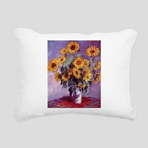 Claude Monet Bouquet of Sunflowers Rectangular Can
