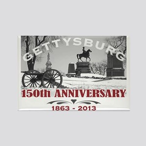 Civil War Gettysburg 150 Anniversary Rectangle Mag