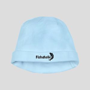 Fishaholic baby hat