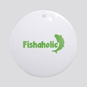 Fishaholic Ornament (Round)