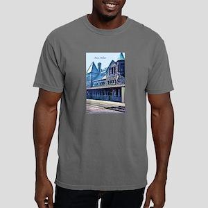 Ann Arbor Train Station Mens Comfort Colors Shirt