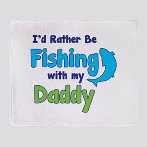 I'd rather be fishing with my daddy Stadium Blanke