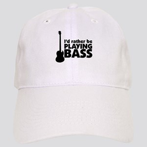 I'd rather be playing bass Cap
