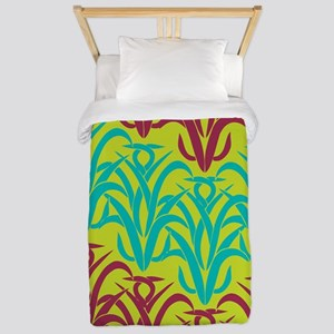 Geometric Grasses Twin Duvet