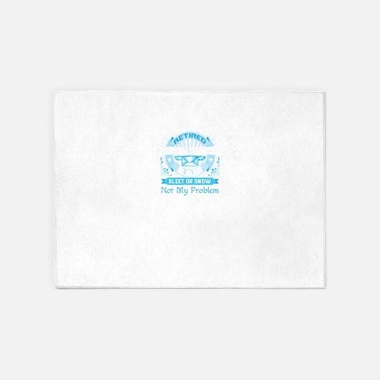 Postal Worker 5'x7'Area Rug