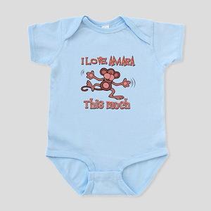 I love Amara this much Infant Bodysuit