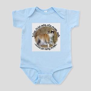 Just Resting My Eyes Bulldog Infant Bodysuit
