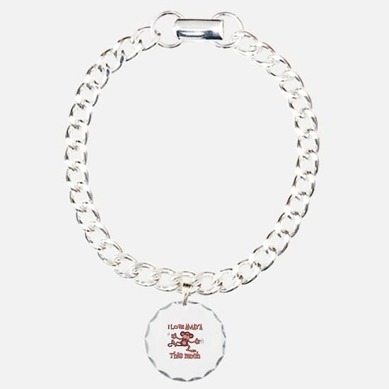 I love Amaya this much Bracelet