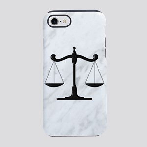 Scales of Justice iPhone 7 Tough Case
