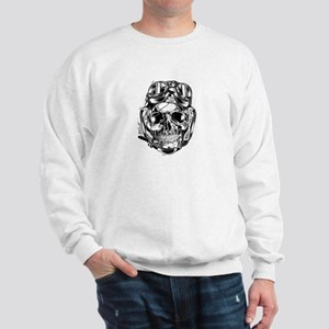 Aviator Skull Sweatshirt
