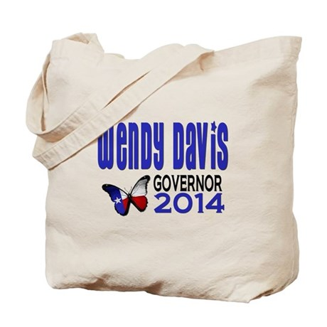 Wendy Davis for Texas Governor 2014 Tote Bag