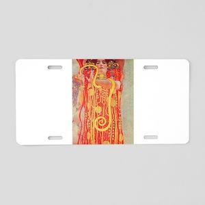 Gustav Klimt Medicine Aluminum License Plate