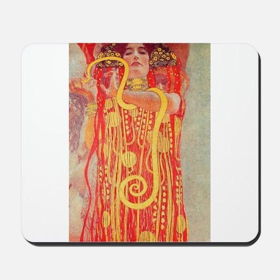 Gustav Klimt Medicine Mousepad